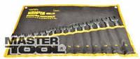 Mastertool Ключи рожково-накидные набор 12 шт, Арт.: 72-0112
