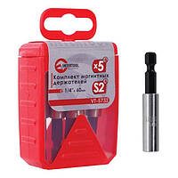 Комплект магнитных держателей INTERTOOL VT-5732