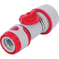 Конектор регулирующий или отключающий поток воды INTERTOOL GE-2002