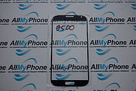 Стекло корпуса для мобильного телефона Samsung I9500 Galaxy S4, I9505 Galaxy S4 черное