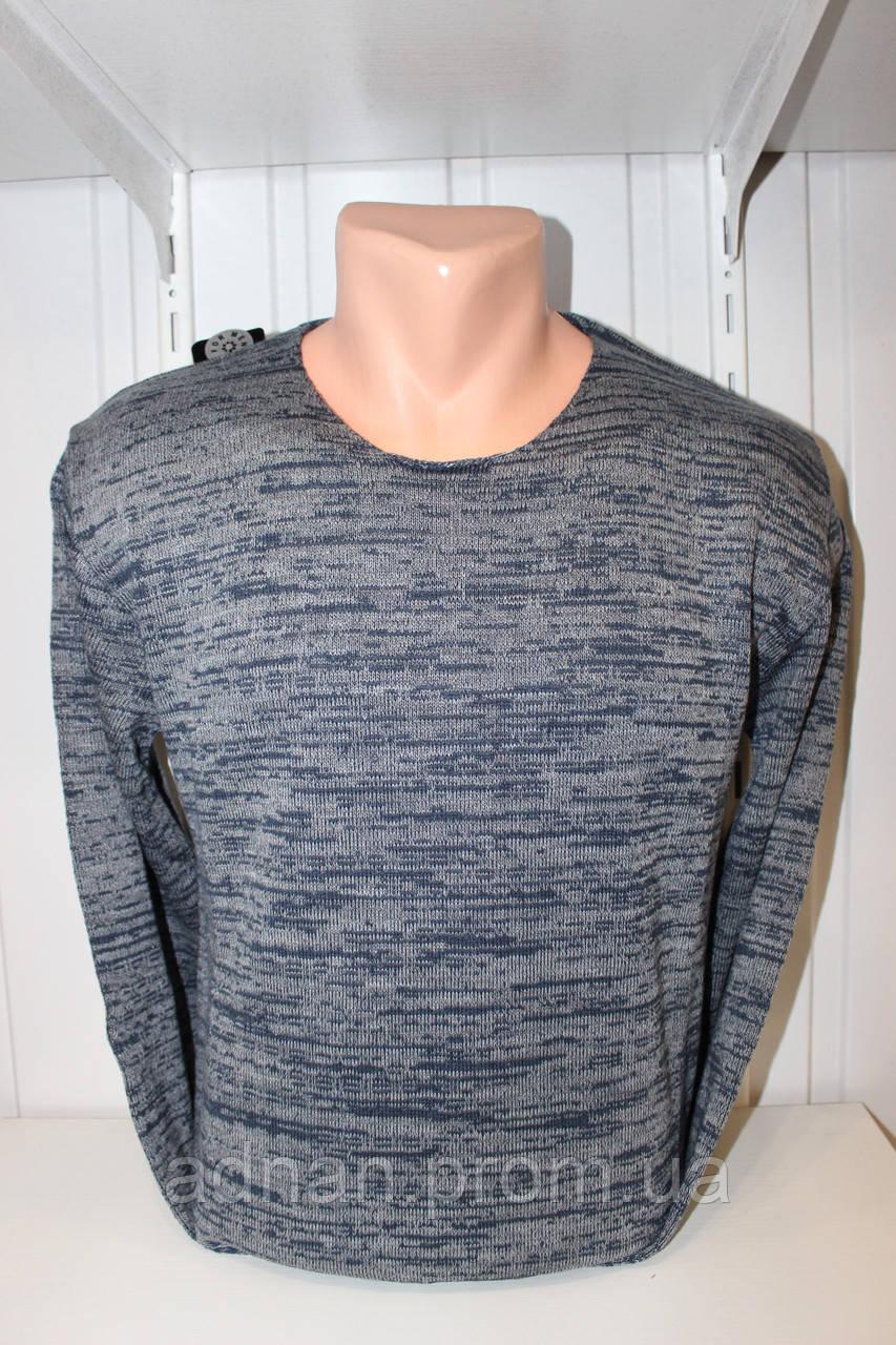 Свитер мужской DULGER, комбинированый 003/ купиь свитер мужской оптом