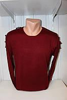 Свитер мужской DULGER, комбинированый 002/ купиь свитер мужской оптом