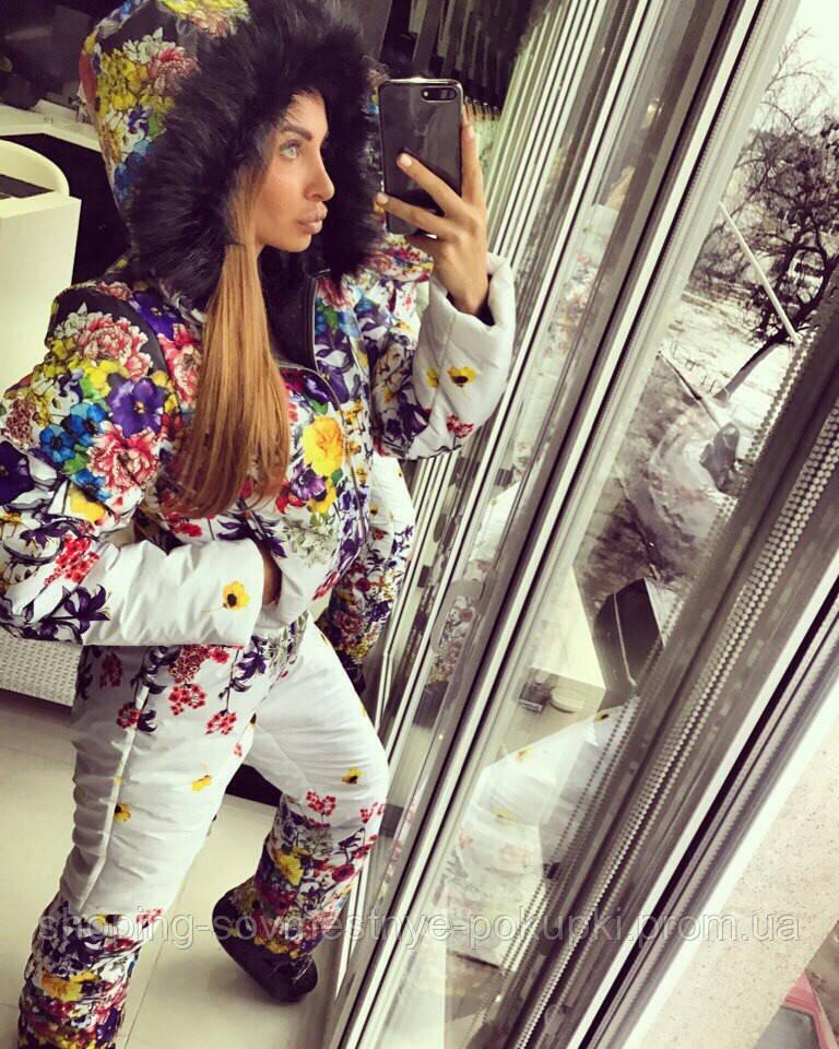 Женские костюмы с цветами