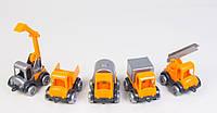 """Игровой набор Детские машинки Wader серии """"Kid Cars маленький строитель"""""""