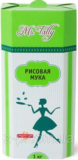 Мука рисовая без глютена Ms. Tally 1кг Украина