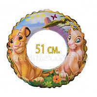 """Надувной круг """"Король лев"""" Intex 58258"""