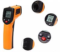 Инфракрасный цифровой термометр пирометр с лазерным наведением