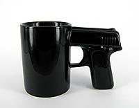 Чашка Пістолет (чорна), фото 1