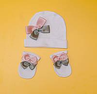 Набор шапочка и царапки