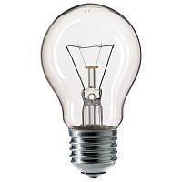 Лампа ЛЗП ИСКРА А55 230В 25Вт Е27 прозрачная
