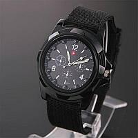 Часы наручные армейские Swiss Military Arm Черные 100% Качество!