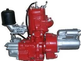 Пусковой двигатель ПД-350 в сборе