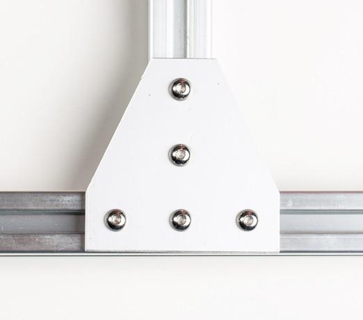 Пластина з'єднання єднувальна Т-подібний для профілю 30х30