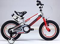 "Велосипед 2-х колесный Royal Baby Freestyle Space №1 Alloy 12"" серебро"