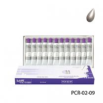 Перламутровые художественные акриловые краски. PCR-02-09_LeD