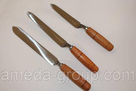 Простой нож Трапеция 130мм (нержавейка), фото 2