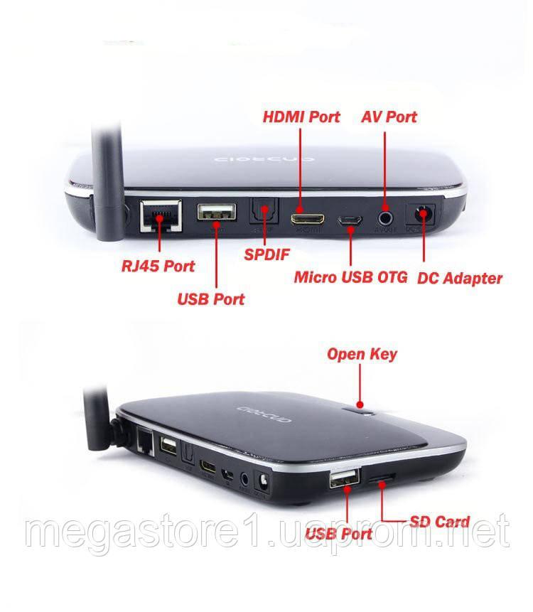 Q7 Android ROOT TV Box CS918 Quad core MK888 8GB