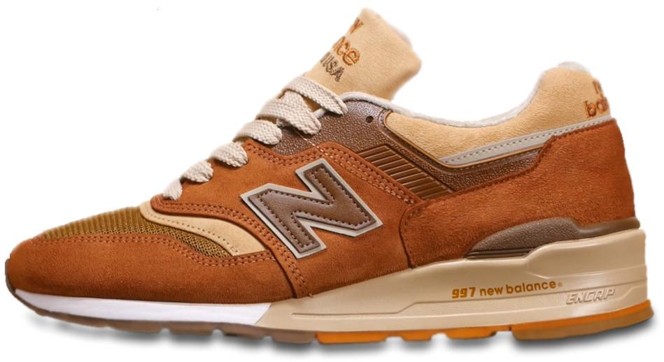 Мужские кроссовки New Balance 997 J Crew Butterscotch M997JC1, Нью беланс 997