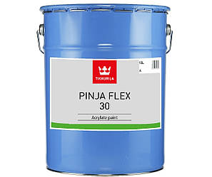 Эмаль акриловая TIKKURILA PINJA FLEX 30 для древесины, 18л
