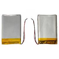 Батарея (АКБ, аккумулятор) для автонавигаторов Navi N43/N43i BT, 650 mAh, 50х34х3,8 мм