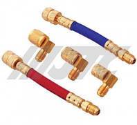 Комплект адаптеров для заправки кондиционера (R-12) (шт.)