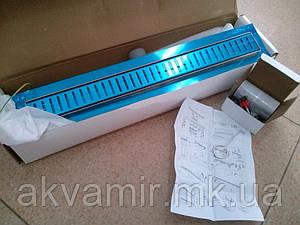 Душевой трап 60 см Q-Tap-600*660 CRM с декоративной решеткой