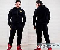"""Спортивный костюм мужской """"BLACK STAR GOLD LION"""""""