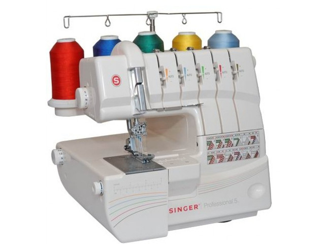 Краеобметочная швейная машина Singer