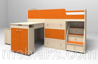 """Кровать-чердак для детей """"Малыш"""", фото 2"""