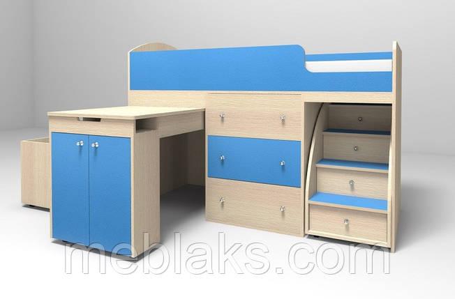 """Детская кровать-чердак """"Малыш"""", фото 2"""