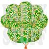 """Воздушные шары Хаки прозрачный зеленый 12"""" (30 см), 100 шт"""