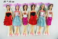 Кукла 30см JJ8583-2 меняет цвет волос 6в.лист.10*32 ш.к./144/