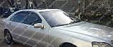 Ветровики окон Мерседес S-Класс W220 (дефлекторы боковых окон Mercedes S-Klasse W220), фото 2
