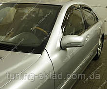 Ветровики окон Мерседес S-Класс W220 (дефлекторы боковых окон Mercedes S-Klasse W220)