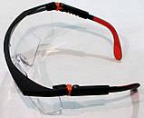 Очки противоосколочные Защитные  TRIARMA, фото 2