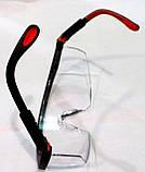 Очки противоосколочные Защитные  TRIARMA, фото 3