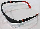 Очки противоосколочные Защитные  TRIARMA, фото 4