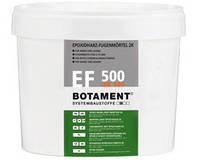 Двухкомпонентный клей и затирка для швов на основе эпоксидной смолы BOTAMENT EF 500 EK 500, цвет серый, 5кг