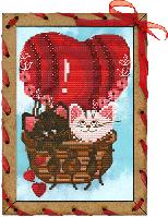 Набор для креативного рукоделия Шар любви  ОР 7563