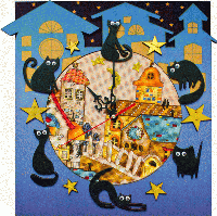 Набор для креативного рукоделия РТ6513 Кошкин дом