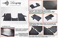 Автомобильные коврики из резины для Фольксваген Транспортер (2 шт)