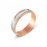 Золотые обручальные кольца с белым золотом  3.11, 126863, 18.5