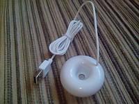 Портативный мини ультразвуковой увлажнитель для дома DC 5 В USB Пончик