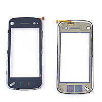 Сенсорный экран Nokia N97 MINI W с рамкой (белый)