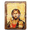 Деревянная икона Христос Спаситель, 17х13 см., фото 4
