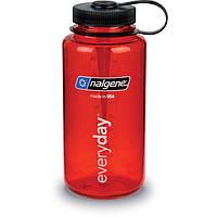 Бутылка, фляга для воды Nalgene на 1000мл красная