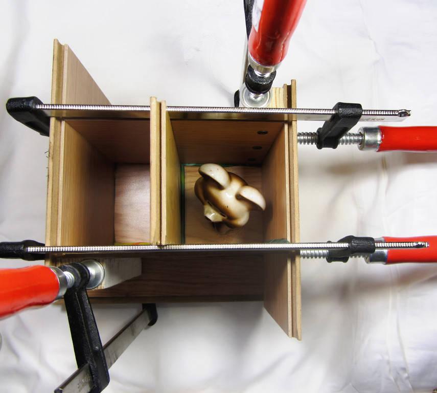 Из чего можно сделать опалубку для заливки силиконом 2