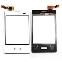 Сенсорный экран LG E400 (Optimus L3) (белый)