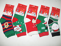 Носки новогодние детские , подарок к новому году  27 / 38 размер