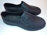 Туфли ЭВА пенка водонепроницаемые модельные мужские